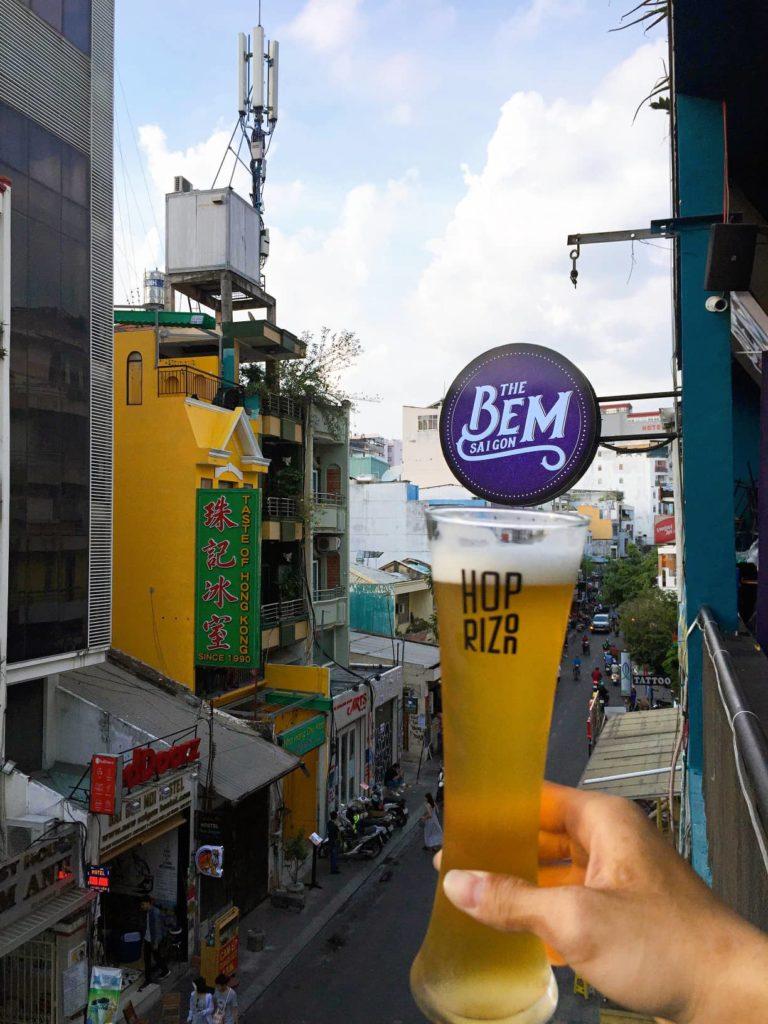 Craft beer in Vietnam Hoprizon Brewery