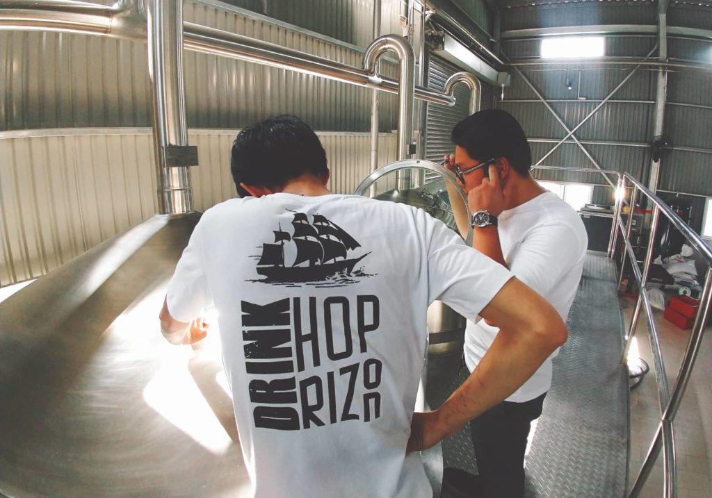 Hoprizon Craft Beer Brewery in Vietnam