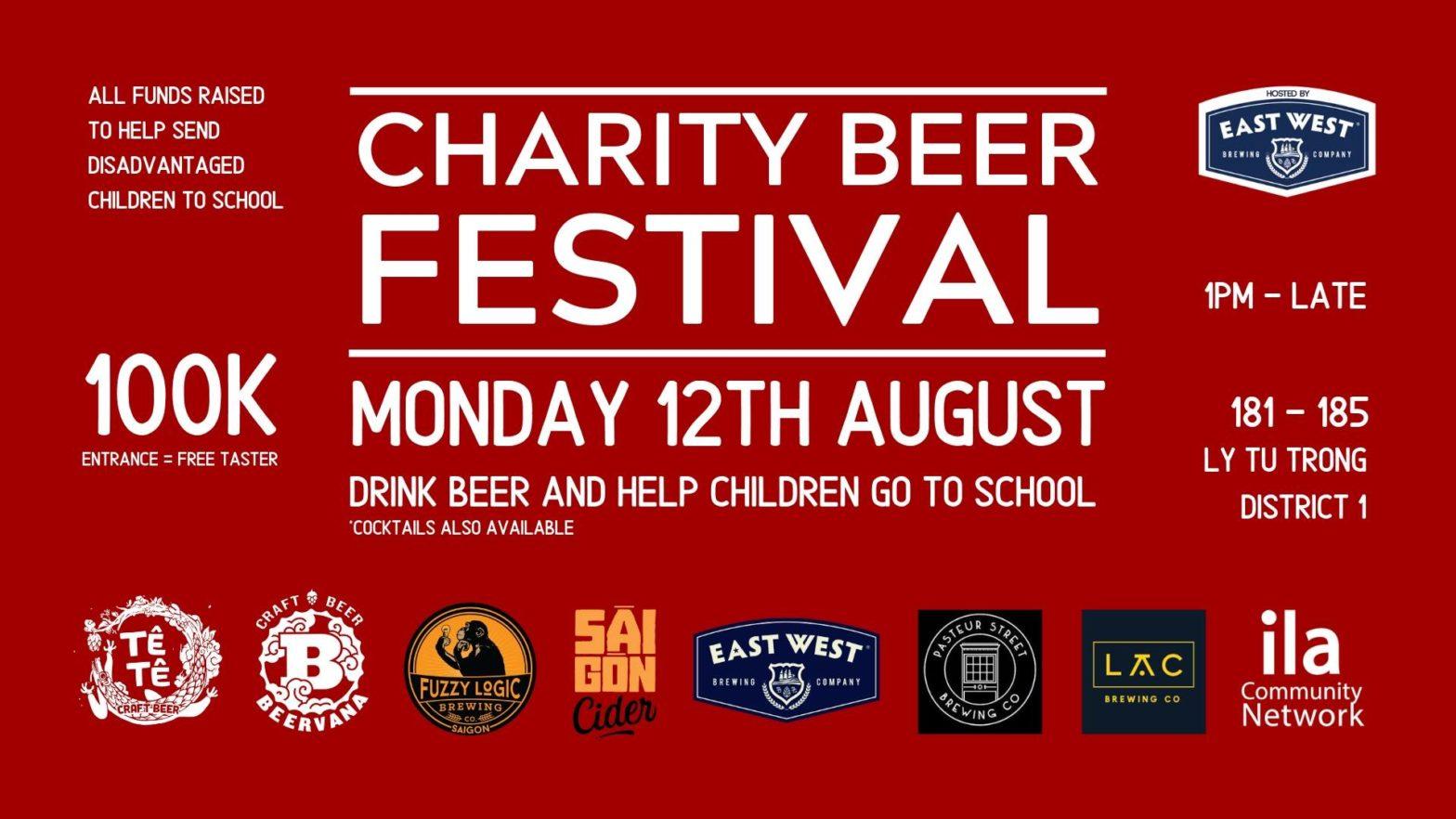 charity beer festival vietnam