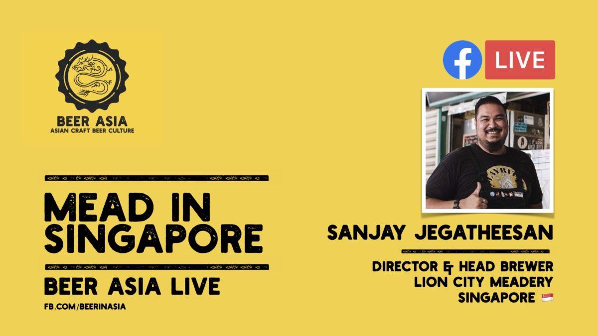 Sanjay Jegatheesan Lion City Meadery