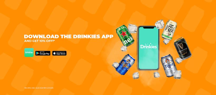 order online, bia giao đến tay khách hàng, Drinkies