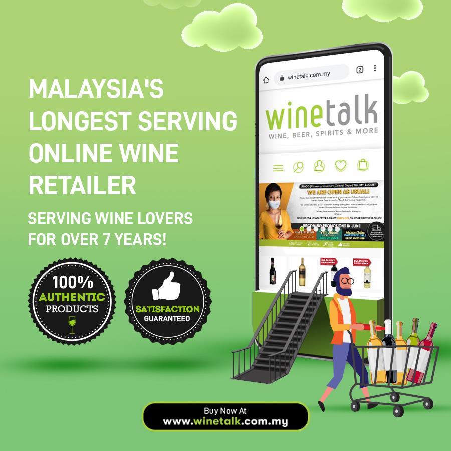 đặt bia online, bia giao tận nhà miễn phí, Wine Talk