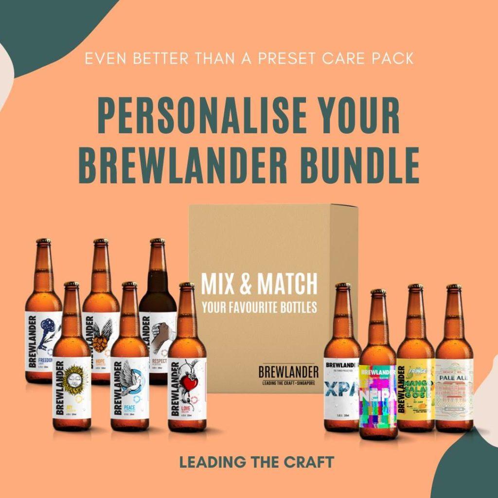 brewlander singapore, gói bia thủ công giao tận nhà, đặt bia trực tuyến