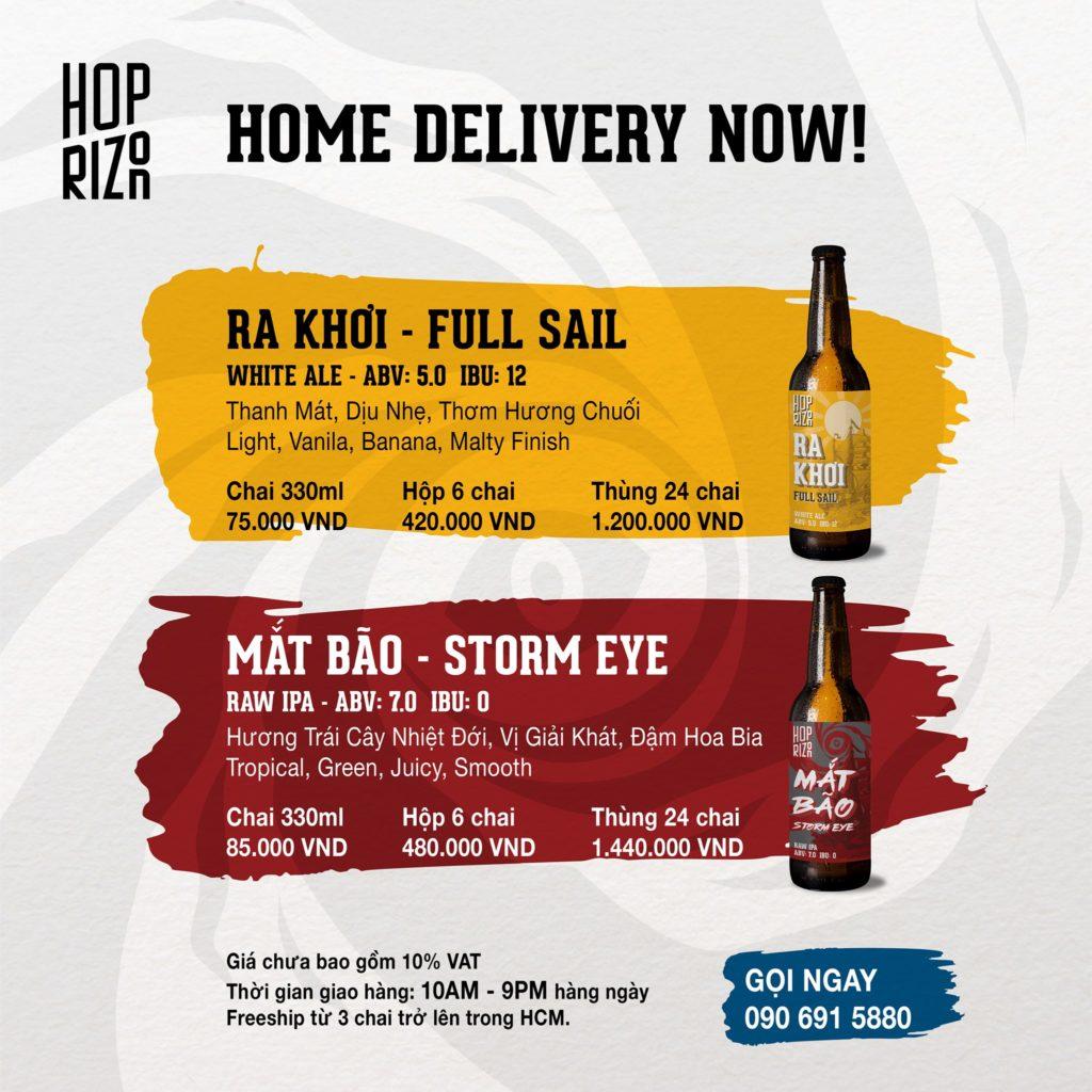 mắt bão ipa, bia tươi hoprizon, gọi ngay để đặt hàng giao tay bạn