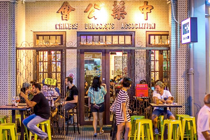 cửa hàng bia thủ công singapore, đặt hàng mang đi, giao hàng, druggists
