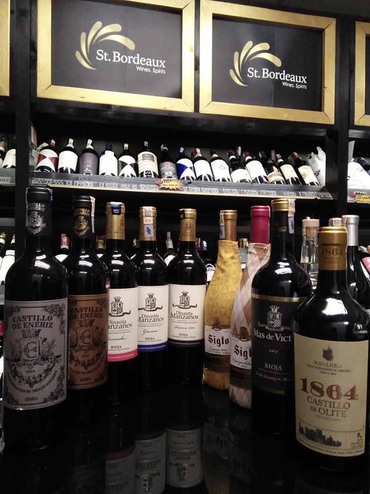 Các sản phẩm rượu tại SB Wine (St. Bordeaux Wine House)