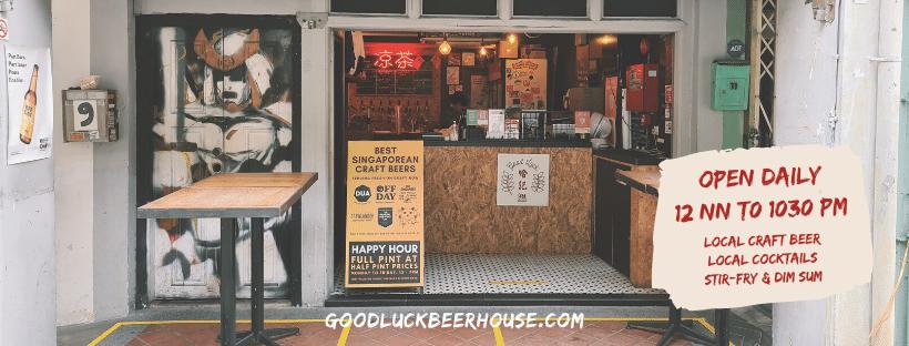 cửa hàng bia tại singapore, đường haji lane, bia thủ công tại singapore