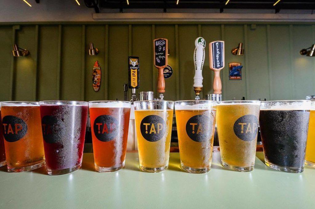 bia thủ công tươi, TAP, bia mang đi