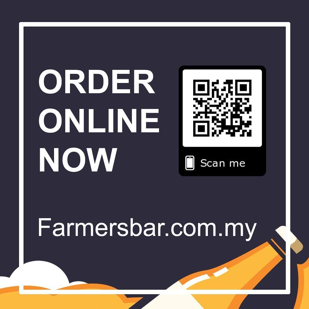 Dịch vụ đặt hàng trực tuyến và giao hàng tận nơi của Farmer's Bar