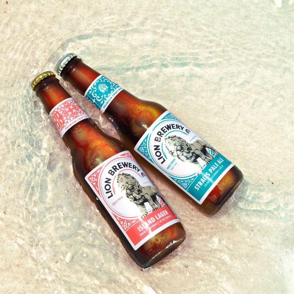 bia thủ công chai thương hiệu Lion Brewery Co, bia giao tận tay singapore