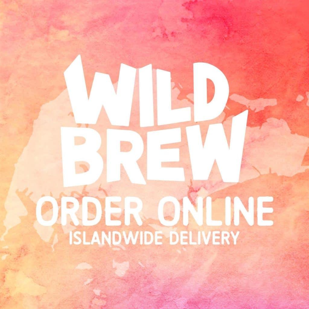 dịch vụ giao hàng toàn đảo, wild brew singapore, bia chai, bia lon