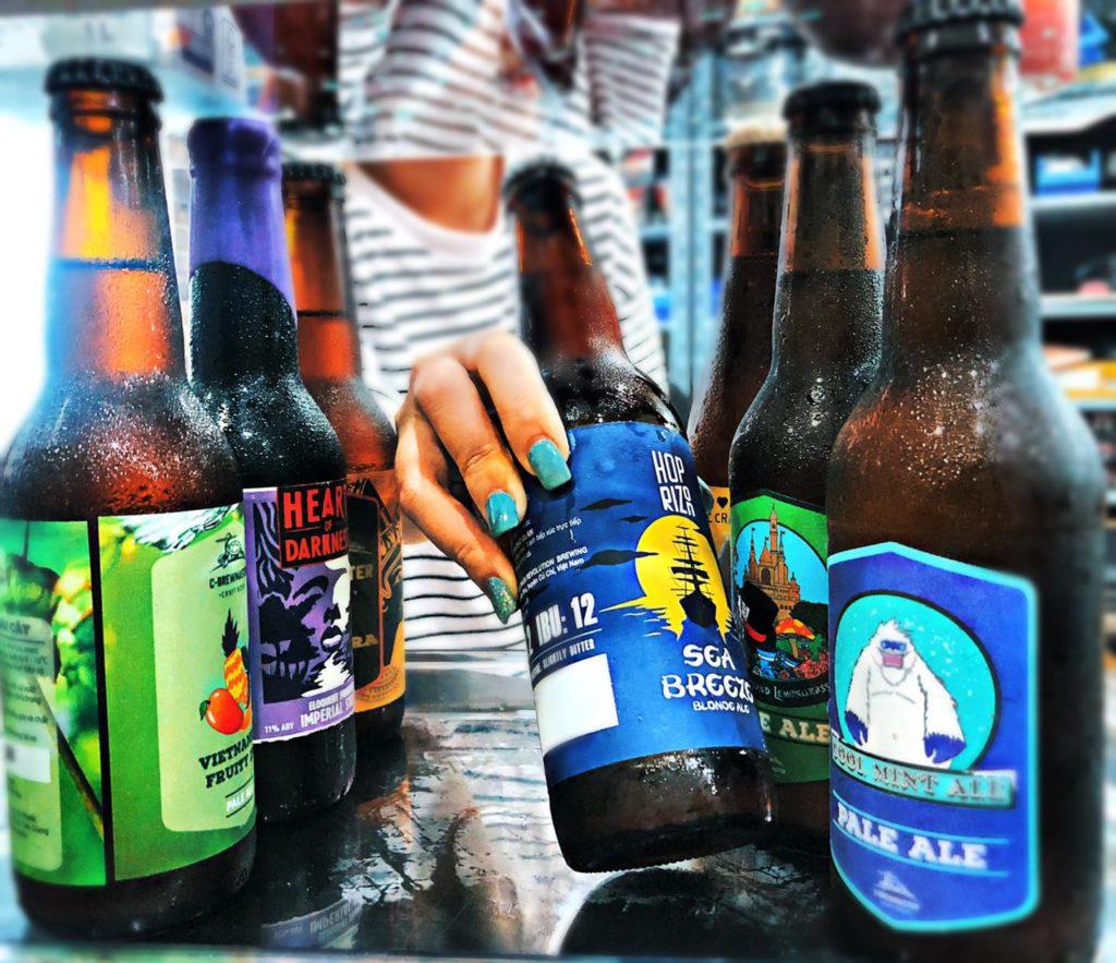 bia tươi việt nam, bia sài gòn ipa, heart of darkness bia, miễn phí giao toàn tp.hcm