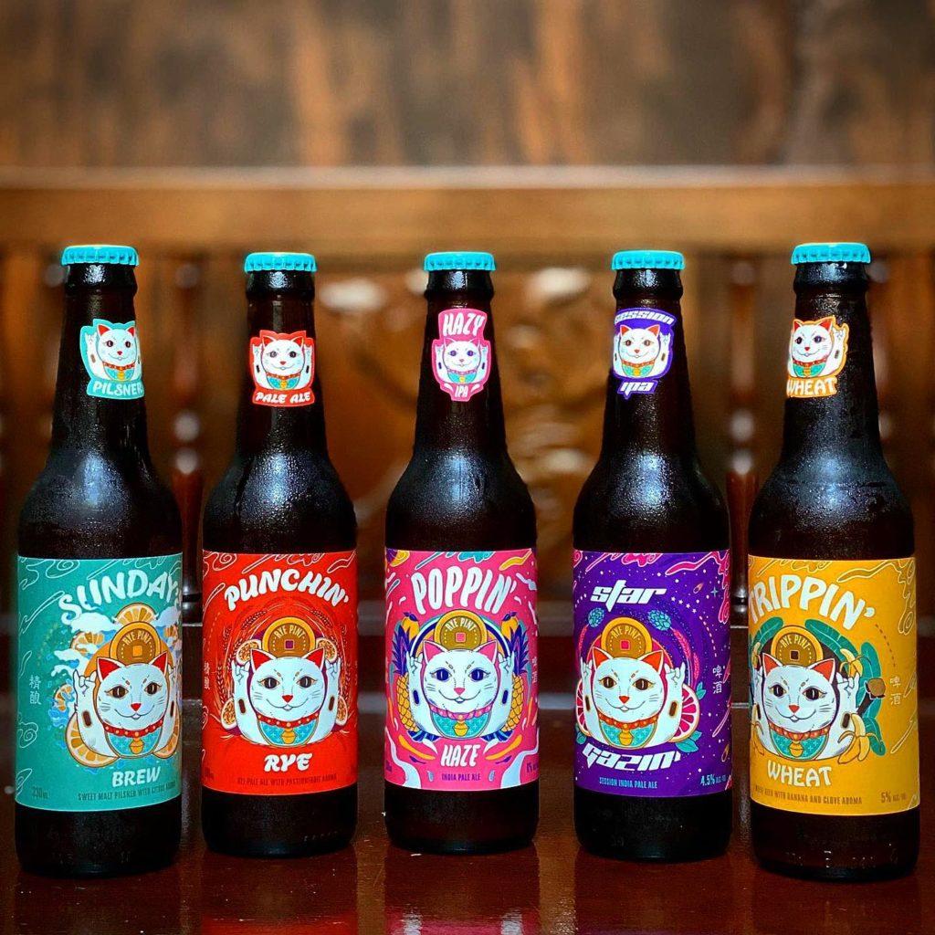 bia thủ công chai singapore, rye & pint brewery, dịch vụ giao hàng trực tuyến