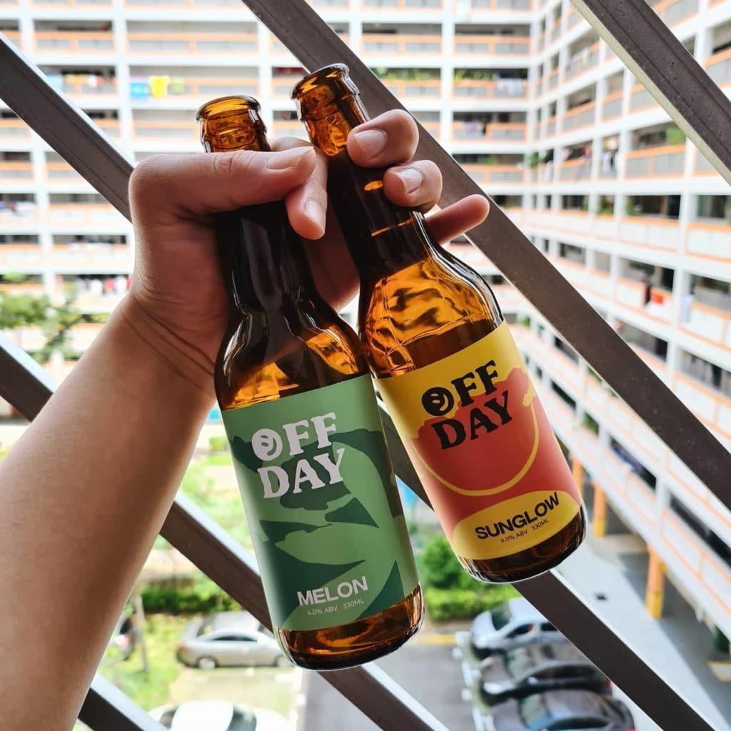 bia thủ công giao tận nhà, bia thủ công Off Day, bia chai